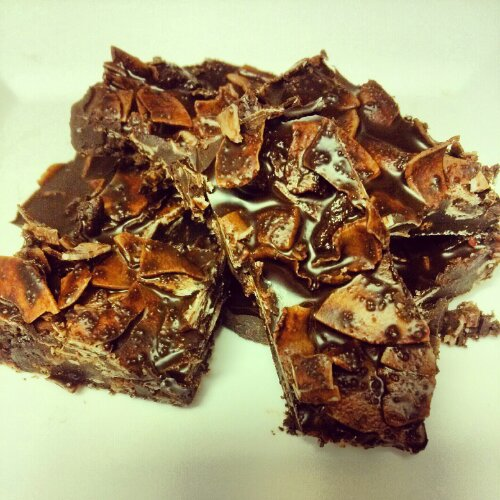 Bacon Chocolate Coconut Bark