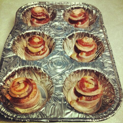 bacon roses pan