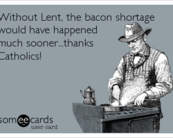 Lenten Bacon