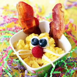 Bacon Egg Easter Bunny
