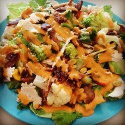 Bacon Smoked Turkey Salad