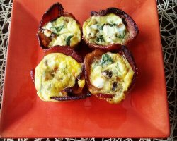 Bacon Quiche Cups