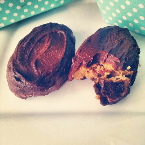 Bacon Chocolate Reeses Easter Egg
