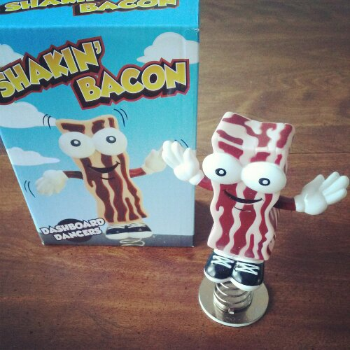 Shakin' Bacon Dashboard Dancer