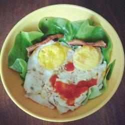happy bacon and eggs