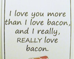 Happy Bacon Mother's Day