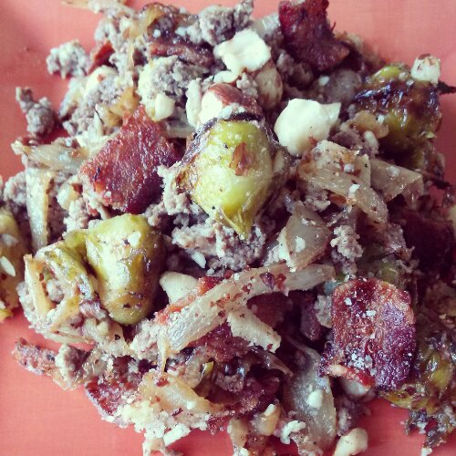 Bacon Brussel Bake