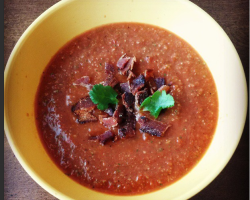 Bacon Gazpacho Soup