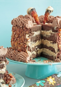 Chocolate Bacon Cake