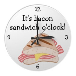 Bacon Clock