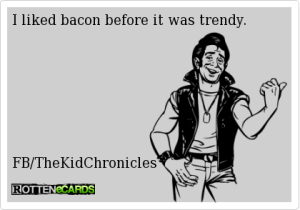 Bacon Trend