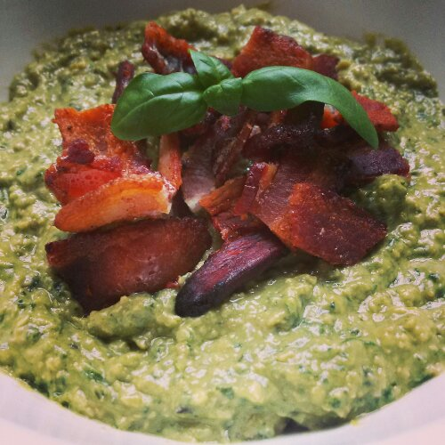 Bacon Avocado Pesto