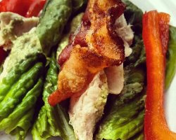 Bacon Pesto Chicken Picnic Wrap